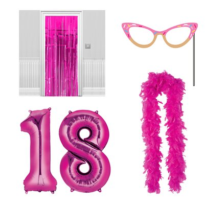 18th Birthday Pink Selfie Kit