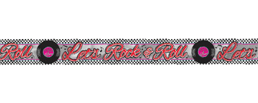 50s Classic Banner - 7.6m Foil Banner