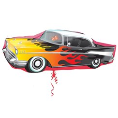 "50s Classic Car Shape Balloon - 35"" Foil"