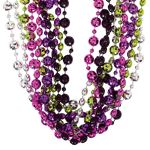 70's Disco Fever Party Bead Necklaces