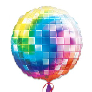 70s Disco Ball Fever Balloon - 32'' Foil