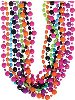 80's Party Beads - 40cm