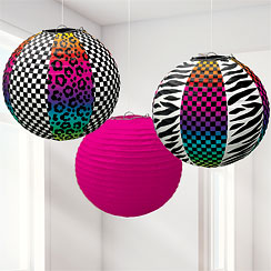 Totally 80's Paper Lanterns - 24cm