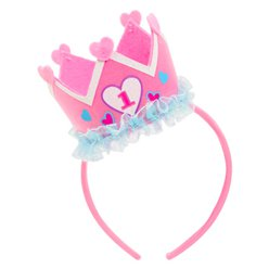 Girl's 1st Birthday Headband