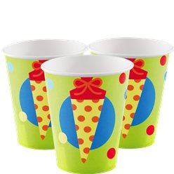 ABC Paper Cups - 250ml