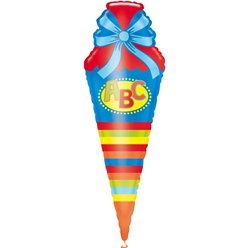 "First Day of School Super Shape Balloon - 48"" Foil"