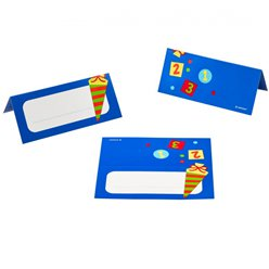 ABC First Day of School Place Cards - 8 Pieces