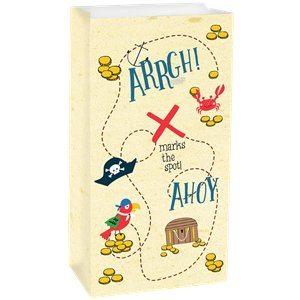Ahoy Birthday Paper Treat Bags