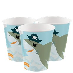 Ahoy Birthday Cups - 250ml Paper Party Cups