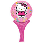 "Hello Kitty Round Balloon - 12"" Foil"