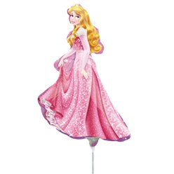 Sleeping Beauty Balloon - 9'' Foil