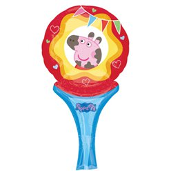 Peppa Pig Balloon - 12'' Inflate A Fun