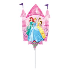 "Disney Princess Castle Airfilled Balloon - 9"" Foil"