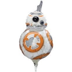 "BB8 Mini Airfilled Balloon - 9"" Foil"