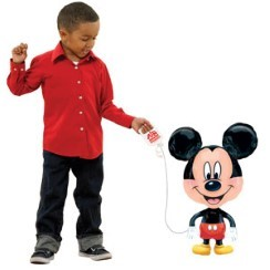"Mickey Mouse Airwalker Balloon - 30"" Foil"