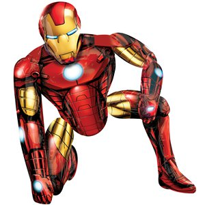 Iron Man Airwalker Balloon - 46'' Foil
