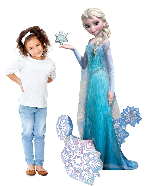 Disney Frozen Elsa Airwalker Balloon - 57