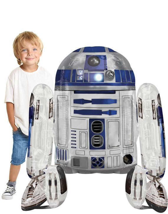 Star Wars R2-D2 Airwalker Balloon - 38""