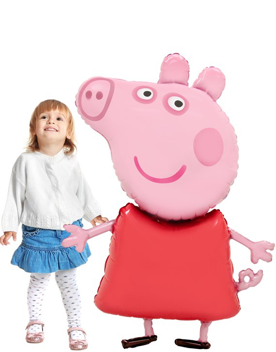 Peppa Pig Airwalker Balloon - 48