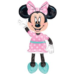 Minnie Mouse Airwalker Balloon - 38""