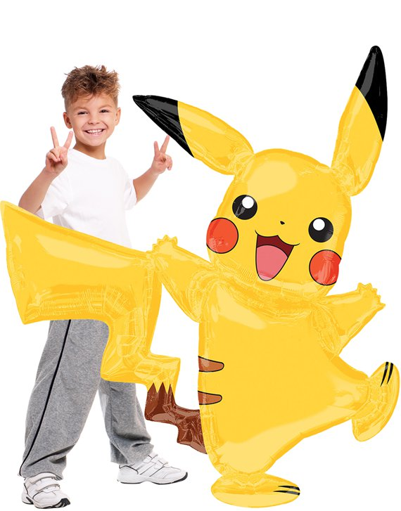 Pikachu Airwalker Balloon - 55""