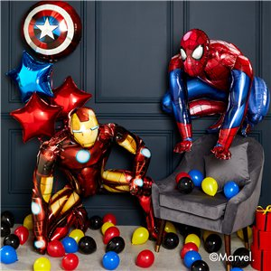 Spiderman Airwalker Foil Balloon - 36