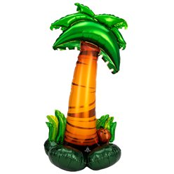 "Palm Tree AirLoonz Balloon - Air Fill 53"" Foil"