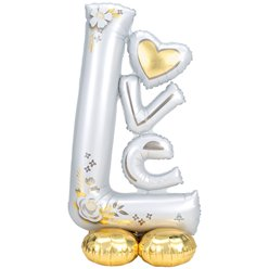 "Love AirLoonz Balloon -Air Fill 53"" Foil"