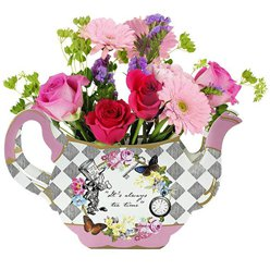 Alice in Wonderland Tea Pot Centrepiece