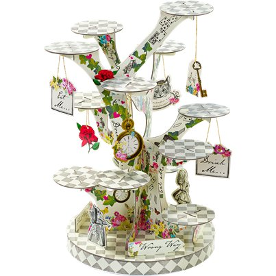 Alice in Wonderland Cake Stand - 59cm