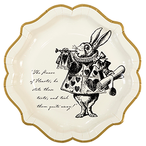 Alice in Wonderland Plates - 23cm