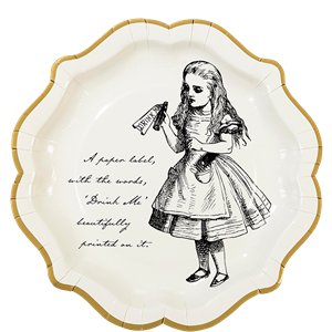 Alice in Wonderland Party Pack - Deluxe Party Pack For 12