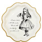 Truly Alice Plates - 23cm