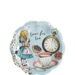 Truly Alice Plates - 17cm