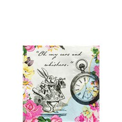 Alice in Wonderland Napkins - 25cm