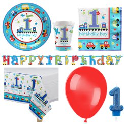 All Aboard Party Pack - Deluxe Pack for 8