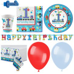 All Aboard Party Pack - Deluxe Pack for 16