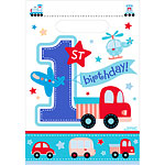 All Aboard 1st Birthday Party Bags