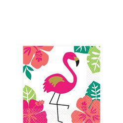 Aloha Summer Cocktail Napkins - 25cm