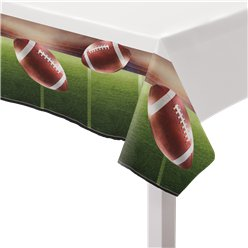 American Football Plastic Tablecover