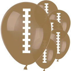 "American Football Balloons - 12"" Latex"