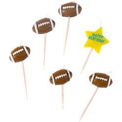 American Football Candle Picks - 7.5cm