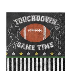 Game Time Luncheon Napkins - 33cm