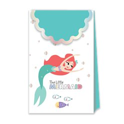 Ariel Under The Sea Paper Party Bags