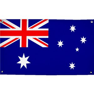 Australian Cloth Flag - 1.5m