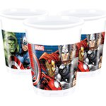 Avengers Cups - 200ml Plastic Party Cups