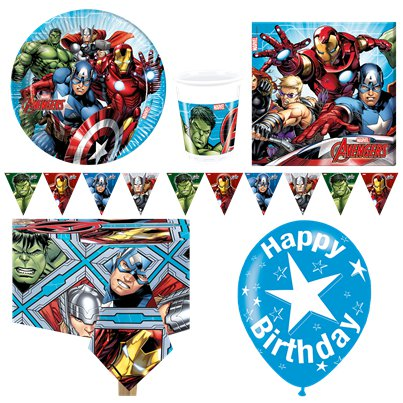 Avengers Deluxe Party Pack