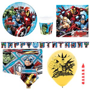 Avengers Party Pack - Deluxe Pack For 8