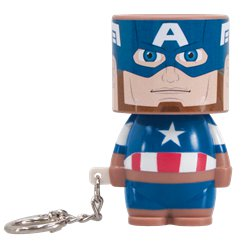 Captain America Clip-On Look-Alite