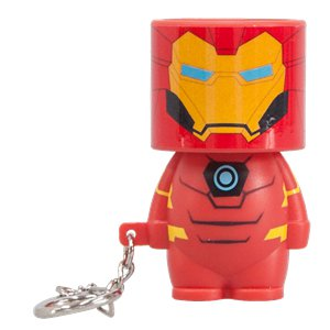 Iron Man Clip-On Look-Alite
